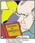 Cartoonist Jerry Van Amerongen  Ballard Street 2013-10-24 read