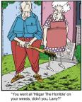 Cartoonist Jerry Van Amerongen  Ballard Street 2013-10-31 bat