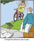 Cartoonist Jerry Van Amerongen  Ballard Street 2013-11-02 bicycle