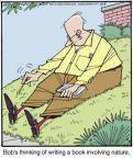 Cartoonist Jerry Van Amerongen  Ballard Street 2013-11-09 book