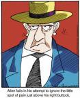 Cartoonist Jerry Van Amerongen  Ballard Street 2013-12-23 Allen