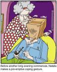 Cartoonist Jerry Van Amerongen  Ballard Street 2013-12-31 spouse