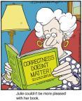 Cartoonist Jerry Van Amerongen  Ballard Street 2014-01-08 read