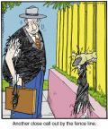 Comic Strip Jerry Van Amerongen  Ballard Street 2014-01-16 dog fence