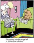 Cartoonist Jerry Van Amerongen  Ballard Street 2014-03-26 read