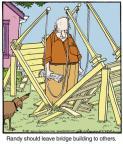 Cartoonist Jerry Van Amerongen  Ballard Street 2014-03-28 other