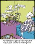 Cartoonist Jerry Van Amerongen  Ballard Street 2014-04-08 pastime