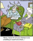 Comic Strip Jerry Van Amerongen  Ballard Street 2014-04-19 hat