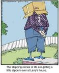 Comic Strip Jerry Van Amerongen  Ballard Street 2014-04-26 house