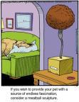 Cartoonist Jerry Van Amerongen  Ballard Street 2014-05-07 pet