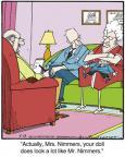 Cartoonist Jerry Van Amerongen  Ballard Street 2014-05-13 spouse