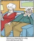 Cartoonist Jerry Van Amerongen  Ballard Street 2014-06-05 pet