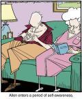Cartoonist Jerry Van Amerongen  Ballard Street 2014-06-10 Allen