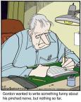Cartoonist Jerry Van Amerongen  Ballard Street 2014-06-19 something