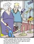 Cartoonist Jerry Van Amerongen  Ballard Street 2014-06-27 cutting