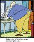 Cartoonist Jerry Van Amerongen  Ballard Street 2014-07-12 hit