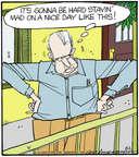 Comic Strip Jerry Van Amerongen  Ballard Street 2014-08-02 pessimistic