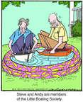 Cartoonist Jerry Van Amerongen  Ballard Street 2014-08-13 pastime