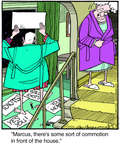 Comic Strip Jerry Van Amerongen  Ballard Street 2014-08-22 house