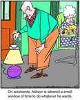 Cartoonist Jerry Van Amerongen  Ballard Street 2014-08-23 window