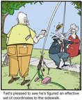 Cartoonist Jerry Van Amerongen  Ballard Street 2014-08-26 trick