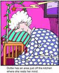 Cartoonist Jerry Van Amerongen  Ballard Street 2014-08-28 she