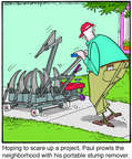 Cartoonist Jerry Van Amerongen  Ballard Street 2014-08-29 neighbor