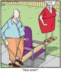 Cartoonist Jerry Van Amerongen  Ballard Street 2014-10-29 board