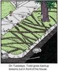 Comic Strip Jerry Van Amerongen  Ballard Street 2014-11-06 house