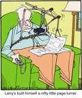 Cartoonist Jerry Van Amerongen  Ballard Street 2014-11-15 machine