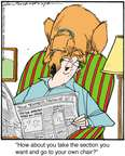 Cartoonist Jerry Van Amerongen  Ballard Street 2014-11-18 read