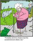 Cartoonist Jerry Van Amerongen  Ballard Street 2014-11-21 too