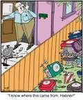 Cartoonist Jerry Van Amerongen  Ballard Street 2014-12-18 neighbor