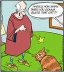 Cartoonist Jerry Van Amerongen  Ballard Street 2014-12-25 cat