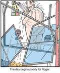 Cartoonist Jerry Van Amerongen  Ballard Street 2015-01-12 broken