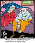 Comic Strip Jerry Van Amerongen  Ballard Street 2015-01-27 hat