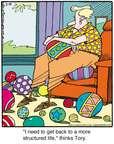 Cartoonist Jerry Van Amerongen  Ballard Street 2015-02-10 ball