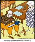 Cartoonist Jerry Van Amerongen  Ballard Street 2015-02-12 cutting