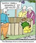 Cartoonist Jerry Van Amerongen  Ballard Street 2015-02-23 hit