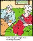 Cartoonist Jerry Van Amerongen  Ballard Street 2015-04-17 spouse