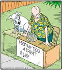 Comic Strip Jerry Van Amerongen  Ballard Street 2015-06-15 dog treat
