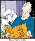 Cartoonist Jerry Van Amerongen  Ballard Street 2015-07-10 read
