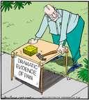 Cartoonist Jerry Van Amerongen  Ballard Street 2015-07-13 hit