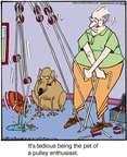 Cartoonist Jerry Van Amerongen  Ballard Street 2015-07-14 pet