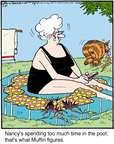 Cartoonist Jerry Van Amerongen  Ballard Street 2015-07-16 cat