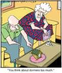 Cartoonist Jerry Van Amerongen  Ballard Street 2015-08-18 window