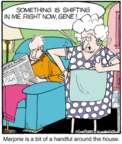 Comic Strip Jerry Van Amerongen  Ballard Street 2015-12-12 house