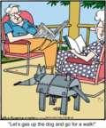 Cartoonist Jerry Van Amerongen  Ballard Street 2016-04-11 machine