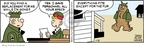 Comic Strip Brian Walker Greg Walker Mort Walker  Beetle Bailey 2009-01-03 vacation