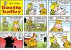 Cartoonist Brian Walker Greg Walker Mort Walker  Beetle Bailey 2009-01-04 cat